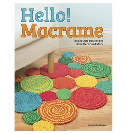 Darice Design Originals Hello! Macrame Book - Softcover - 48 Pages