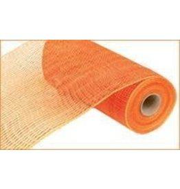 "Craig Bachman 10""X10yd Deluxe Wide Foil Mesh Orange W/Orange Film"