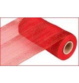 "Craig Bachman 10""X10yd Bold Stripe Mesh Red W/Lsr Red/Lsr Lime"
