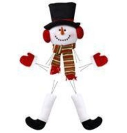 "Craig Bachman 5 Pc 28.5""H Snowman Decor Kit"