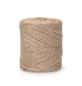 Darice Jute - 3-Ply - 28 pound - Natural - 1/2 pound