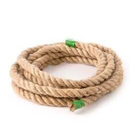 Darice Pepperell Natural Jute Craft Rope: 3-Ply Twist - 0.5 inches x 10 feet