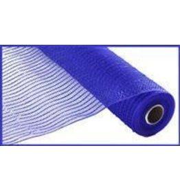 "Craig Bachman 10""X10yd Wide Foil Mesh Royal Blue W/Blue Foil"