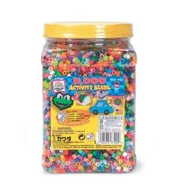 Darice Perler Beads Bead Jar - Multi Mix Colors - 11,000 pieces