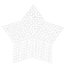 Darice PlasticCanvas Shape - Star - 3-1/4 inches - 10 pieces