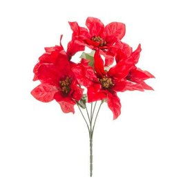 Darice Red Poinsettia Brush: 12.5 inches, 5 tips