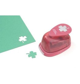 EK Tools Picture Punch Shape Punch - Shamrock - 1 inch