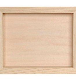 Darice Wood Shadow Box - 8.5 x 11 x 1.75 inches