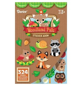Darice Sticker Book for Kids - Woodland Critters and Pals - 324Stickers