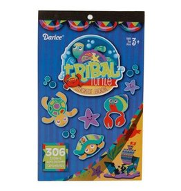 Darice Sticker Book for Kids - Tribal Turtles - 306Stickers
