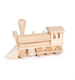 Darice Wood Model Kit - Civil War Steam Engine