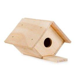 Darice Wood Model Kit - Birdhouse - 6 x 3-1/2 inches