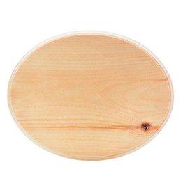 Walnut Hollow Walnut Hollow Pine Wood Plaque - Oval - 8.75 x 11 inches