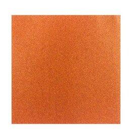 Darice Glitter Silk Collection Sheet - Fire Spark - 12 x 12