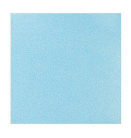 Darice Glitter Silk Collection Sheet - Sparkling Water - 12 x 12