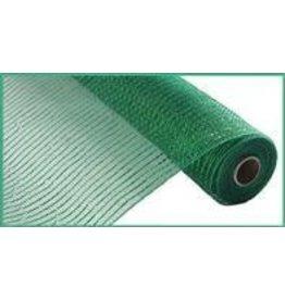 """Craig Bachman 10""""X10yd Wide Foil Mesh Emerald W/Emerald Foil"""