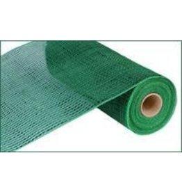 "Craig Bachman 10""X10yd Deluxe Wide Foil Mesh Emerald W/Emerald Foil"