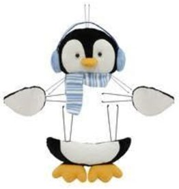 "Craig Bachman 4 Pc 16""H Penguin Decor Kit"