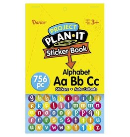 Darice Project Plan It Sticker Book - Alphabet - 6 x 9 inches - 756Stickers