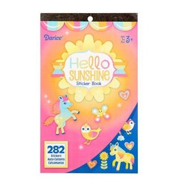 Darice Sticker Book for Kids - Hello Sunshine - 282Stickers