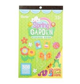 Darice Sticker Book for Kids - Spring Garden - 308Stickers