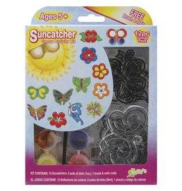 Darice Suncatcher Group Pack - Butterfly Flower