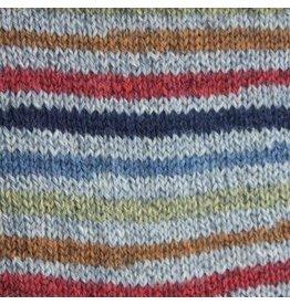 Patons Kroy Sock Blue Striped Ragg