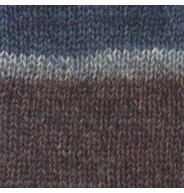 Patons Kroy Sock Blue  brown Marl