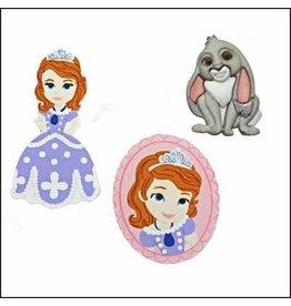 Dress Up Button Disney Sofia The First