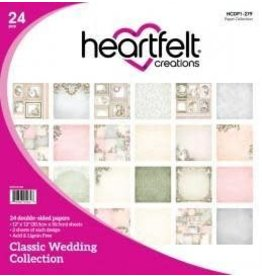 Kathy's Fiber Arts & Crafts Ltd Paper Collection, Classic Wedding
