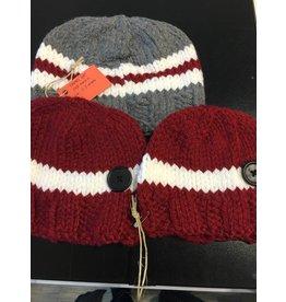 Kim Lantz Kim Knit Work sock hat