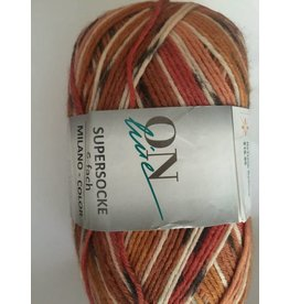 Online Online 6ply Sock Color Milano 1620