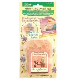 Clover CLOVER 8924 - Applique Mold - Floret/Berries