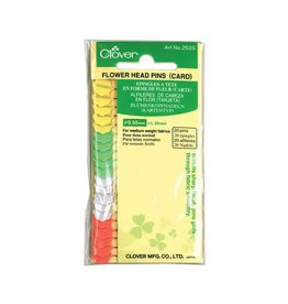 "Clover CLOVER 2505 - Flower Head Pins (Carded) - 50mm (2"")"