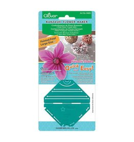Njefferson CLOVER 8483 - Kanzashi Flower Maker - Pointed Petal - Large