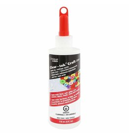 UNIQUE CREATIV UNIQUE CREATIV Clear-takTM Craft Glue - 118ml (4 fl. oz)