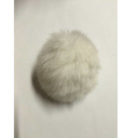 Kathy's Fiber Arts & Crafts Ltd Real Rabbit Fur Pom Pom
