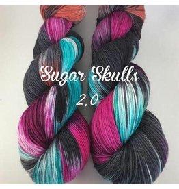 A Whimsical Wood Yarn Co Sugar Skulls 2.0