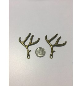 Kathy's Fiber Arts & Crafts Ltd Antler Charm