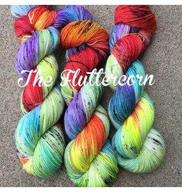 A Whimsical Wood Yarn Co Whimsical Wood yarn Fluttercorn