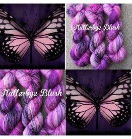A Whimsical Wood Yarn Co Whimsical Wood yarn Flutter bye Blush