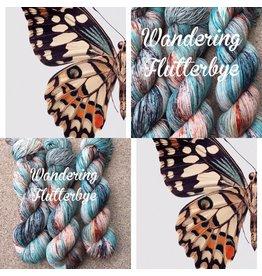 A Whimsical Wood Yarn Co Wandering Flutter bye