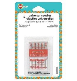 HEIRLOOM HEIRLOOM Machine Universal Needles - Assorted Sizes