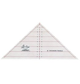"SEW EASY SEW EASY Triangle Ruler 90° - 71/2"" x 151/2"" (19 x 39.4cm)"