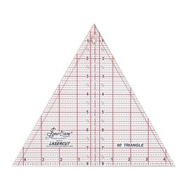 "SEW EASY SEW EASY Triangle Ruler 60° - 8"" x 91/4"" (20.3 x 23.5cm)"