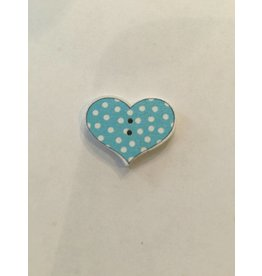 Kathy's Fiber Arts & Crafts Ltd Button 20mm Heart 1
