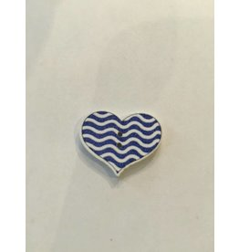 Kathy's Fiber Arts & Crafts Ltd Button 20mm Heart 2