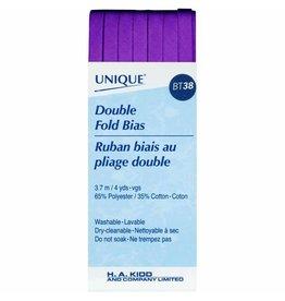 Hakidd UNIQUE Double Fold Bias Tape 6mm x 3.7m - Purple