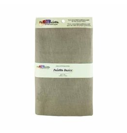 "Hakidd 100% Cotton Fabric - Taupe - 1.8 x 1m (2yds x 42"")"