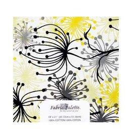 "Hakidd Fat Quarter Pre-Cut Fabric - Paloma Collection 1 - 45 x 53cm (18"" x 21"")"